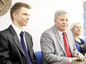 Od lewej: Maciej Staręga i Apoloniusz Tajner. Fot. AB