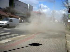 Czyszczenie ulic. Fot.Edmunt