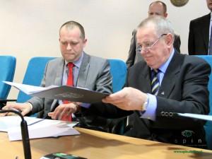 Podpisanie umowy Fot. AB