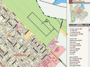 Ul. Północna w dwóch częściach figuruje nawet w mapach na stronie WWW UM Siedlce