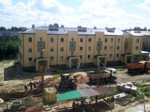 Gospodarcza 10 wkrótce zapełni się lokatorami. Fot. AF