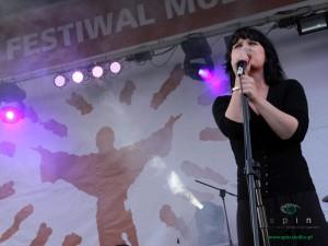 Monika Brodzik, laureatka ubiegłorocznego festiwalu Fot.BG