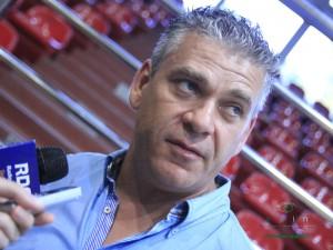 Arkadiusz Mazurkiewicz: Potem podjęliśmy troszeczkę walkę i skończyło się całkiem sensownie. Fot. AB