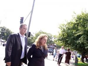 Grzegorz Adamczuk i Elżbieta Jakubiak
