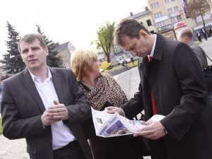 Jacek Kozaczyński (pierwszy od lewej) Fot. AB