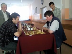 Zdjęcie z 10 turnieju szachowego Grand Prix Siedlec Fot. Sławomir Kurpiewski
