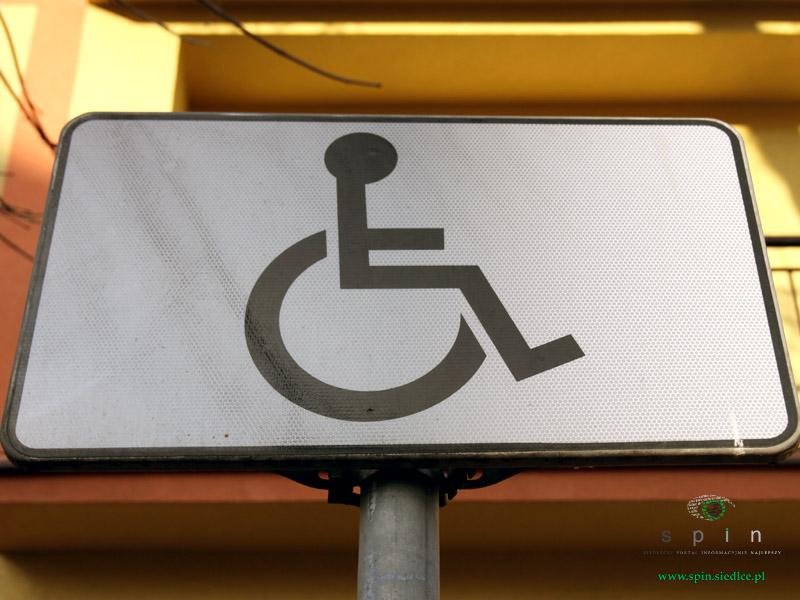 osoby niepełnosprawne znak
