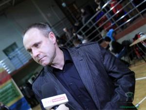 Tomasz Araszkiewicz trener SKK Siedlce Fot. BG