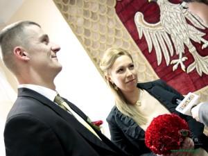 Magdalena i Paweł nie mieli wątpliwości w jaki dzień zostaną małżeństwem. Fot. AB