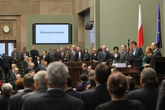 Pierwszy dzień 6. posiedzenia Sejmu VII kadencji Fot. Krzysztof Białoskórski (www.sejm.gov.pl)