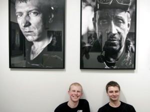 Jakub (od lewej) i Maciek. Fot. AB