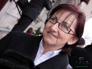 Przewodnicząca rady dzielnicy Ewa Kaślikowska - Olszyna zarzuca władzom miasta ograniczanie wolności słowa.  Fot. AB