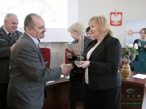 Sławomir Kindziuk, odbiera nagrodę Fot. AB