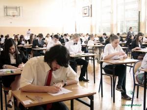 Egzamin w PG nr 1 im. KEN w Siedlcach Fot. BG