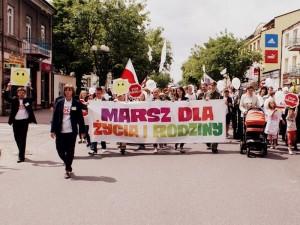 Marsz dla Życia i Rodziny w Siedlcach. Fot. A. Czarnocka