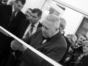 Konstanty Ryszard Domagała podczas otwarcia Sali Podlasie. Fot. AB