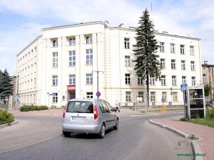 Już tylko do końca września w tym budynku mieścić się będzie siedlecka policja Fot. AB