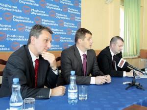 Jacek Kozaczyński (w środku) zastąpił Marka Kordeckiego. Fot. AB