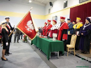Inauguracja roku akademickiego 2012/2013 w UPH. Fot. AB