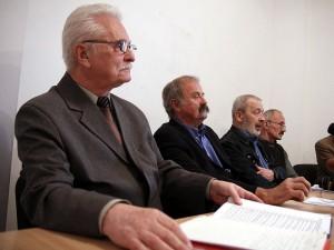 Od lewej: Wiesław Zajączkowski, Maciej Kublikowski, Tomasz Olko, Zygmunt Goławski (junior)