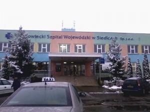 Mazowiecki Szpital Wojewódzki w Siedlcach tonie Fot. BG