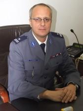 podinsp. Marek Fałdowski Fot. Jerzy Długosz, KMP Siedlce