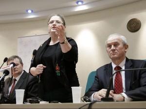 Krystyna Pawłowicz podczas spotkania z sympatykami PiS. Fot. AB