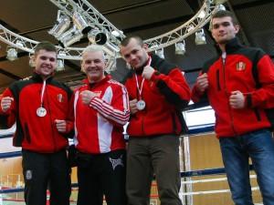 Na zdjęciu od lewej: Maciej Garbaczewski, Andrzej Garbaczewski, Cyprian Grzęda, Roger Garbaczewski