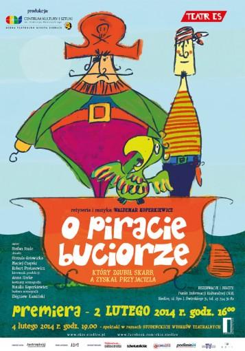 o piracie buciorze plakat 1