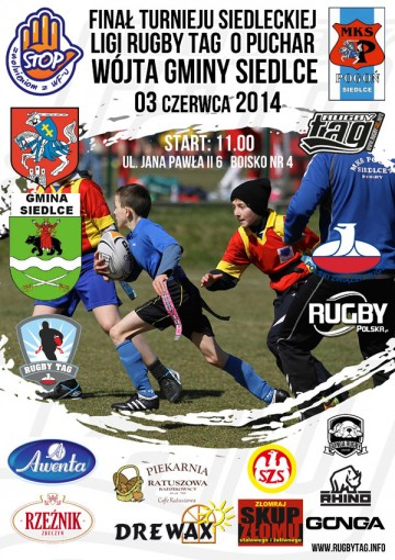 plakat rugby caly