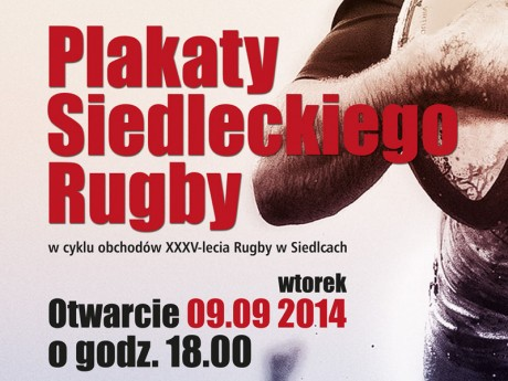 plakat rugby