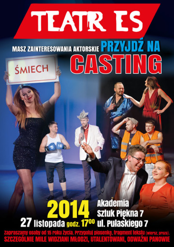 teatres casting caly