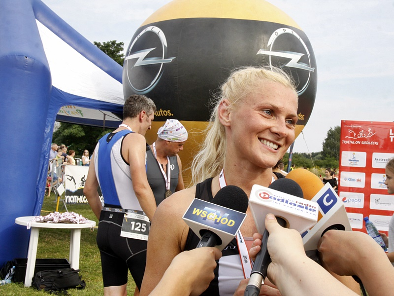 triathlon zwycieszczyni