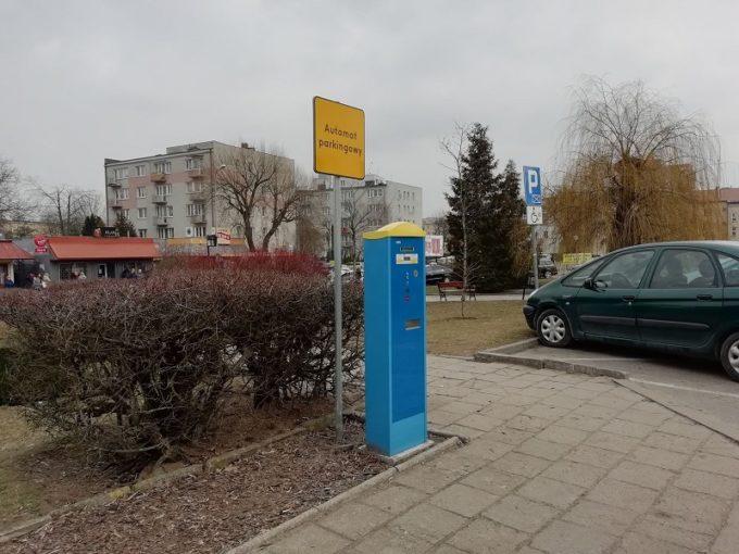 Parkomat w SPP na Placu S. Zdanowskiego
