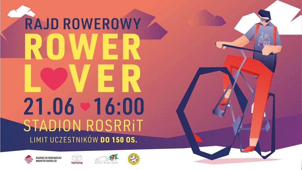 Agencja Rozwoju Miasta Siedlce Rajd Rowerowy po Siedlcach plakat