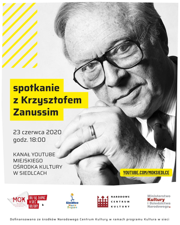 Spotkanie z Krzysztofem Zanussim plakat