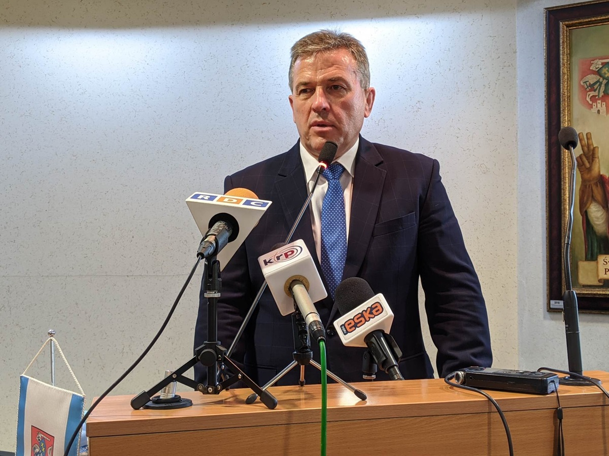 Andrzej Sitnik, prezydent Siedlec