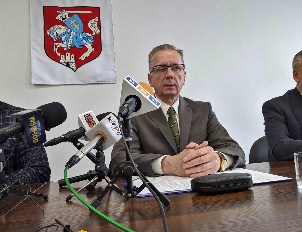 Mirosław Leśkowicz, dyrektor szpitala miejskiego