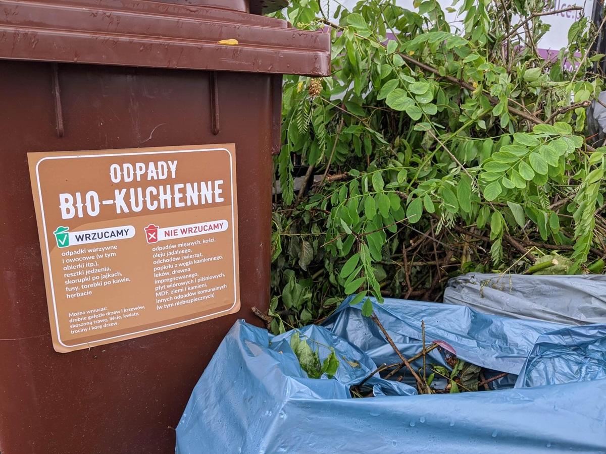 Pojemniki na bio-odpady