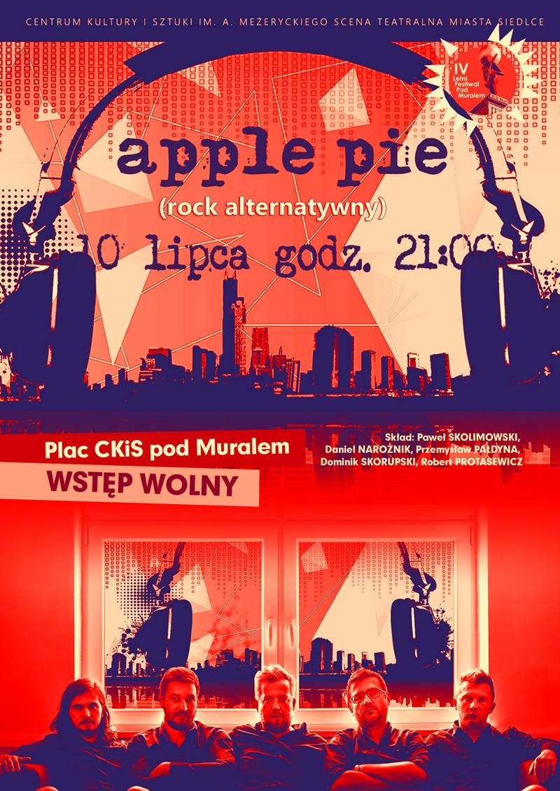 Koncert apple pie plakat