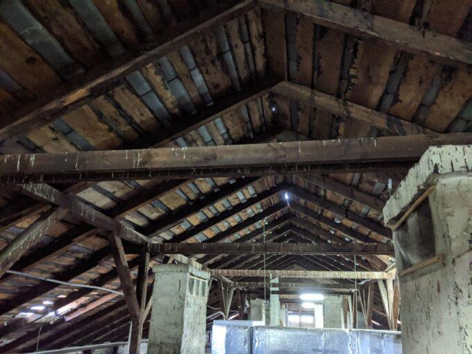 Dziury w dachu budynku UM Siedlce
