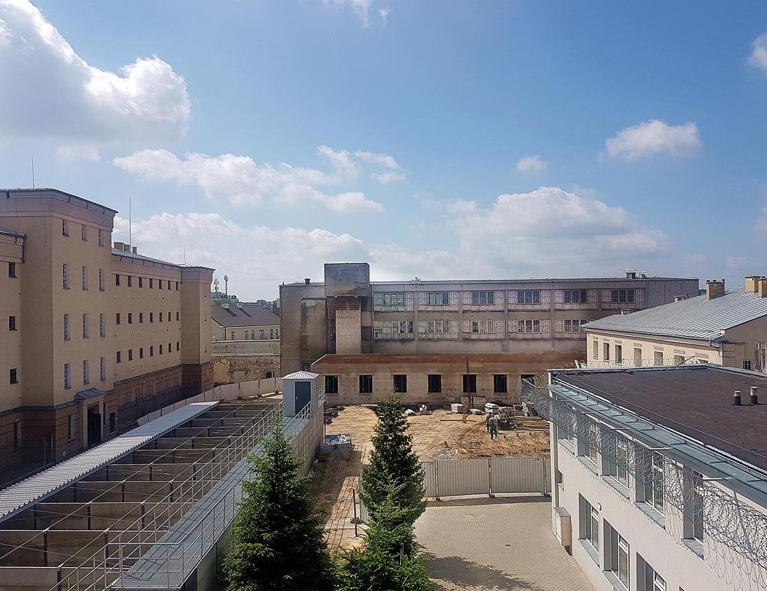 Zakład Karny Siedlce budowa nowego pawilonu