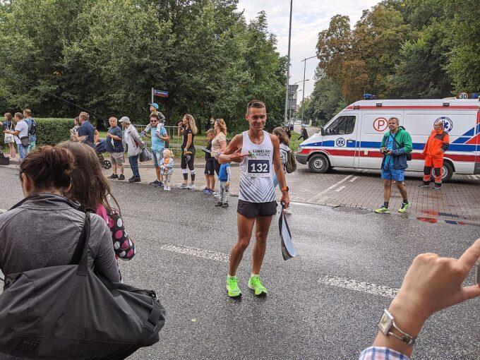 Zwycięzca Biegu - Paweł Wysocki