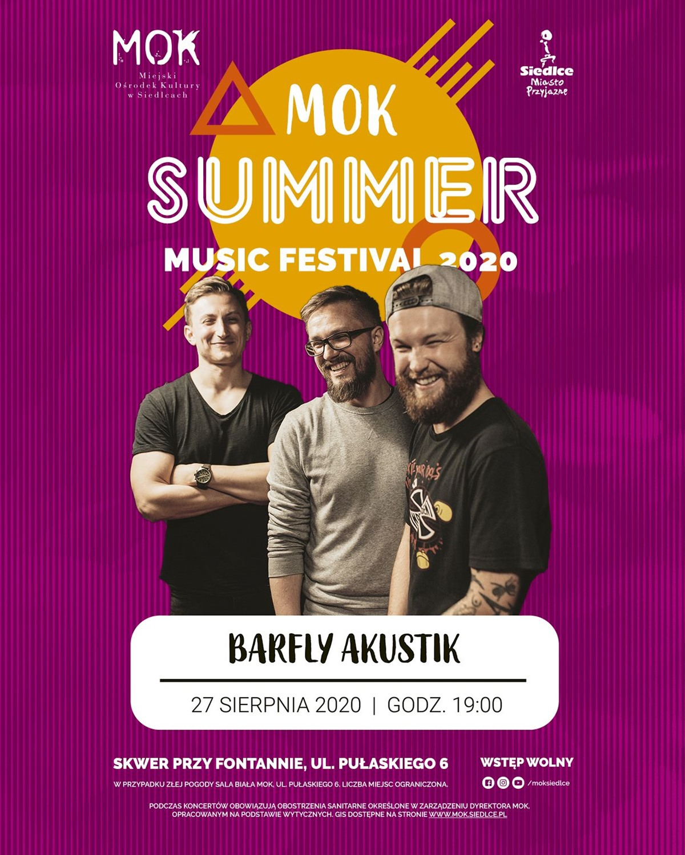 Koncert zespołu Barfly Akustik