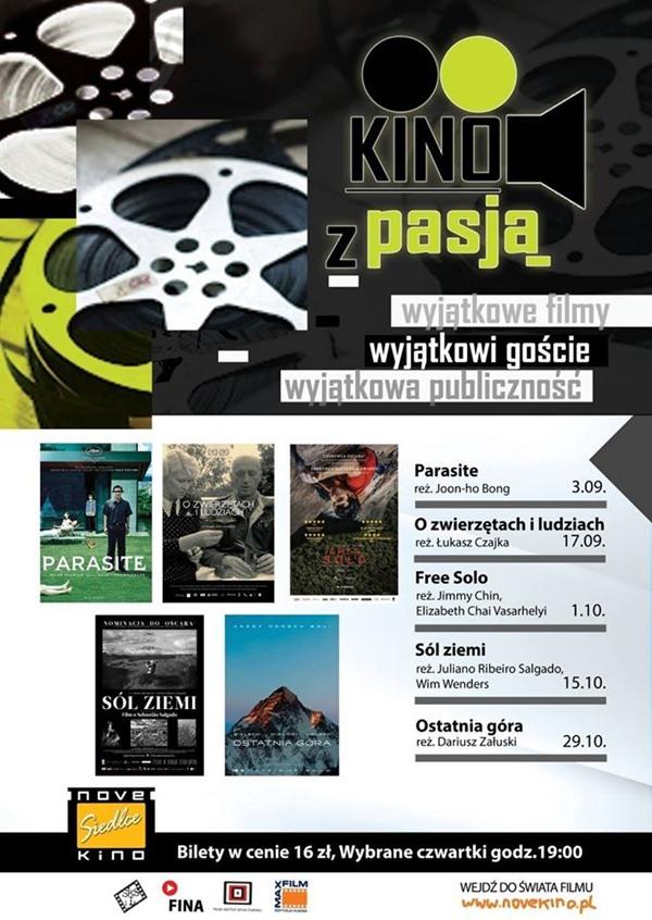 Kino z Pasja w NoveKino Siedlce