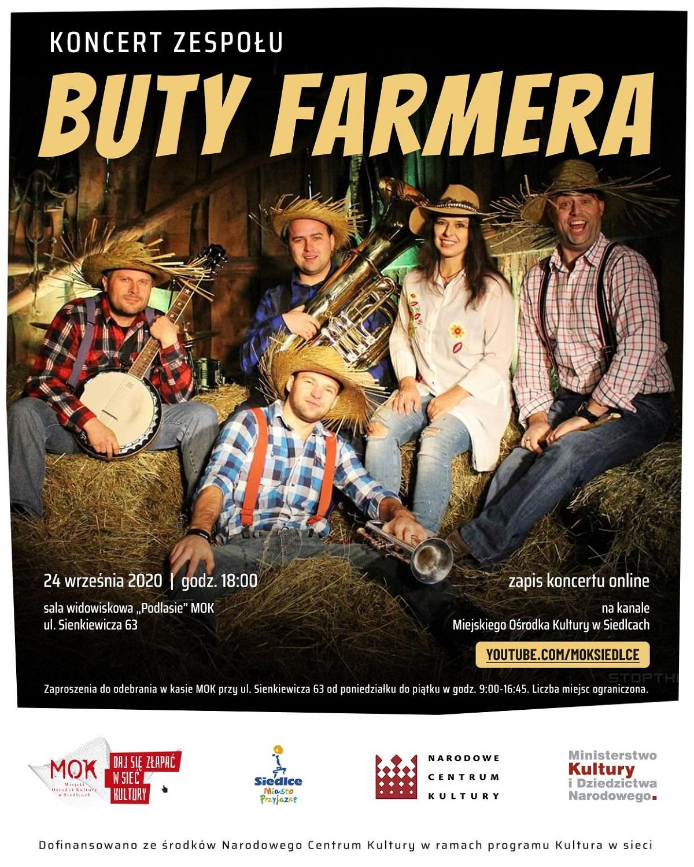 Koncert zespołu Buty Farmera
