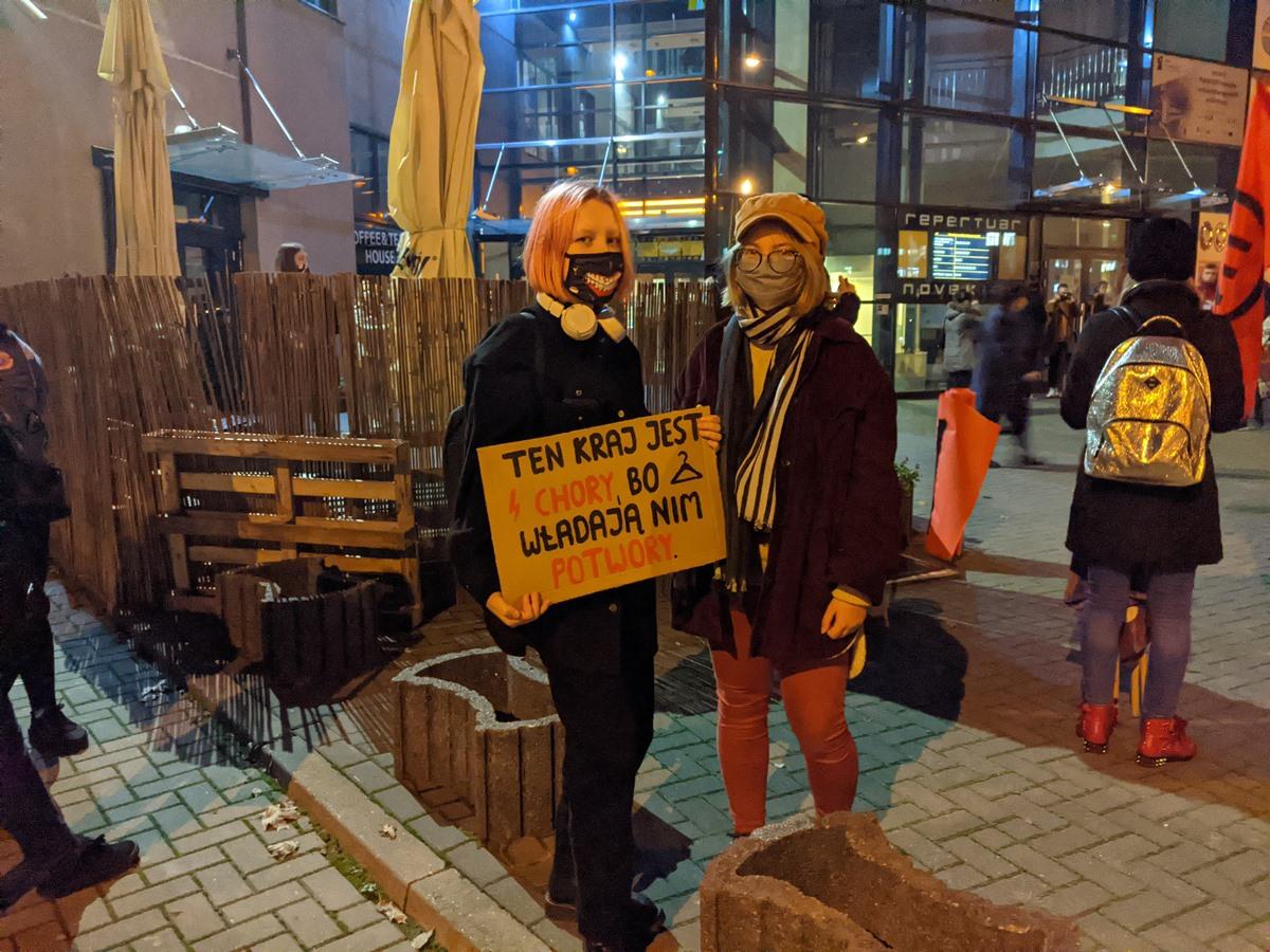 Siedlce, Czarny Protest 2020