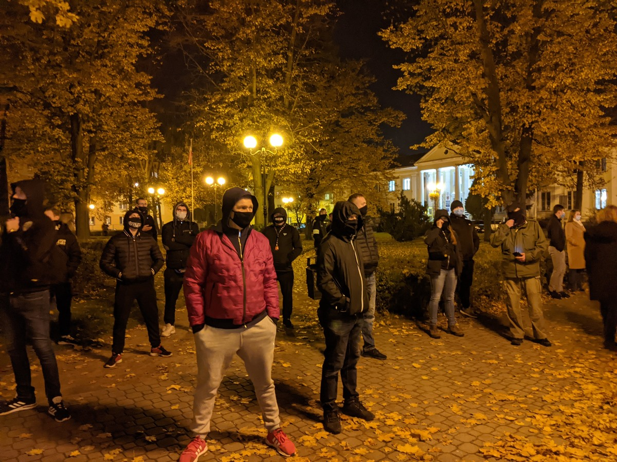 Siedlce, Czarny Protest 2020, obrońcy kościołów