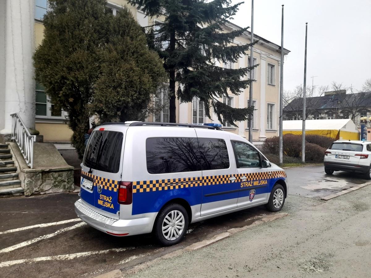 Siedlce 2021. Nowy samochód dla straży miejskiej.