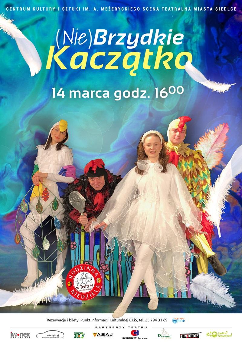 """Spektakl """"(Nie)Brzydkie Kaczątko"""" w Centrum Kultury i Sztuki"""